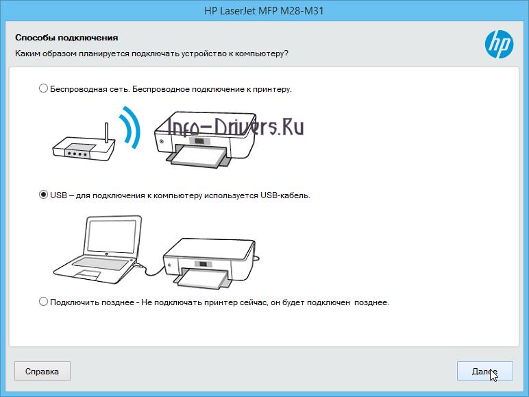Driver for Printer HP LaserJet Pro M28w