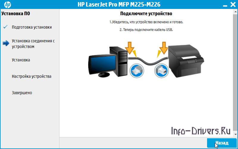 Driver for Printer HP LaserJet Pro M225rdn